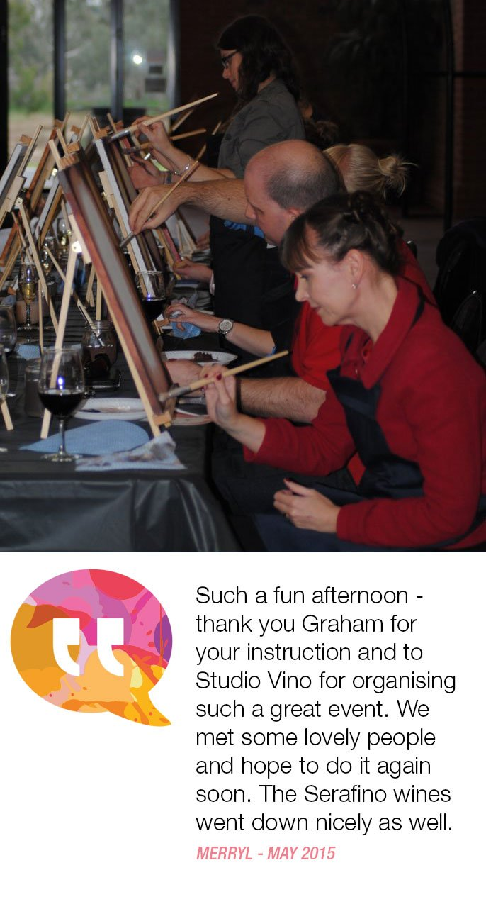 paint and sip events in Adelaide