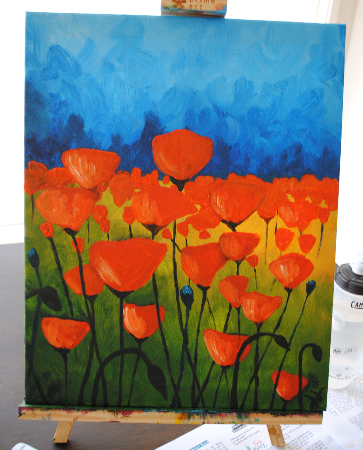 Field of Poppies - Sold Out