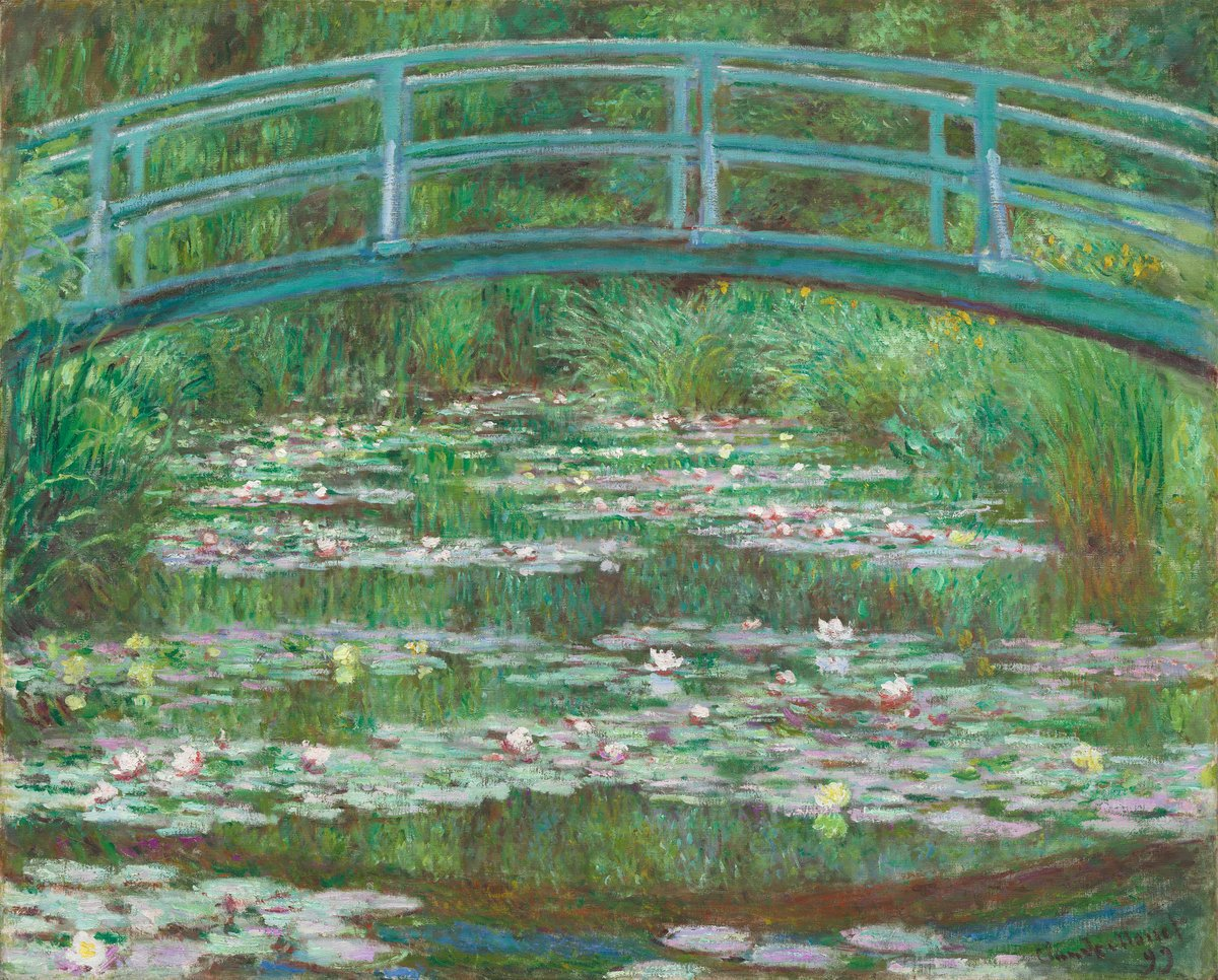 Monet's Water Lilies - April 26
