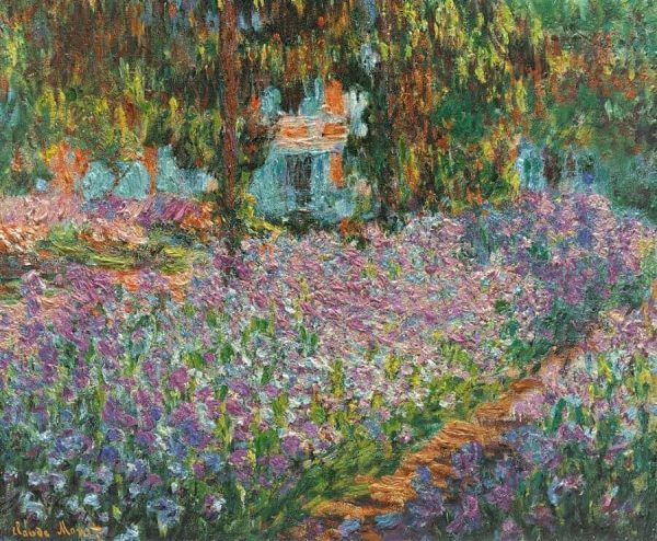 Monet's The Artist's Garden at Giverny