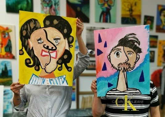 Paint your Partner Picasso Style