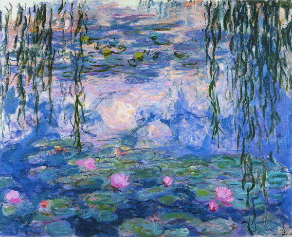 Monet's Water Lilies 1919