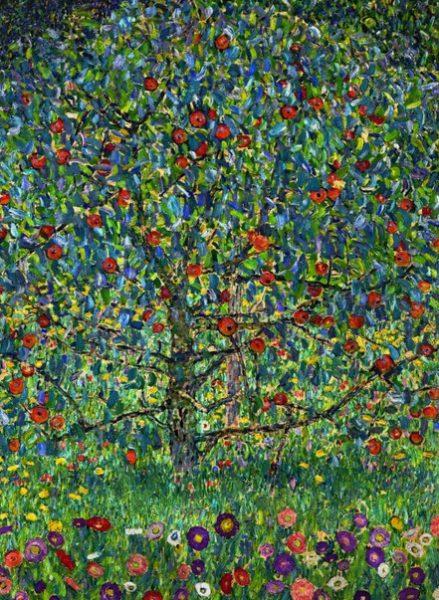 Klimt's Apple Tree