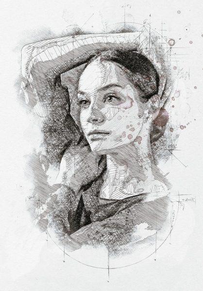 Charcoal Portraits Unmasteredclass