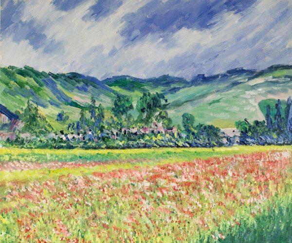 Monet's Poppy Field Near Giverny