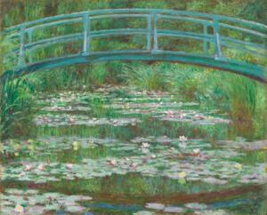 Monet's Waterlily Pond
