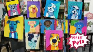 Pop Art Pups © Studio Vino
