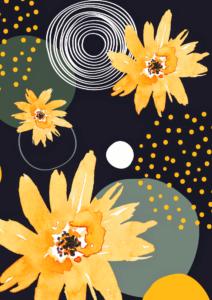 Abstract Floral © Studio Vino