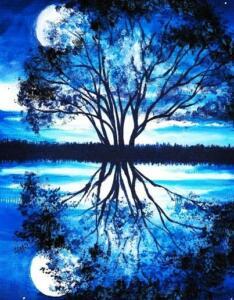 Blue Moon - artist unknown