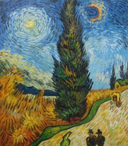 Cyprus Tree by Vincent van Gogh