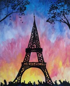 Paris at Sunset © Studio Vino