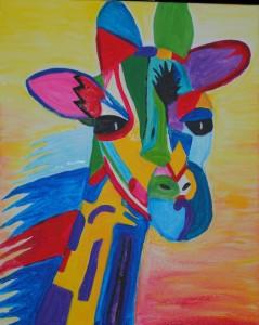 Mosaic Giraffe © Studio Vino