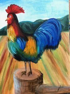 Ramon the Rooster © Studio Vino