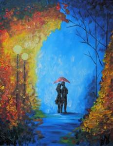 Lovers in the Rain  © Studio Vino