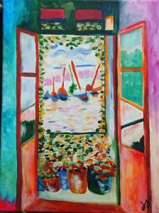 The Open Window by Henri Matisse