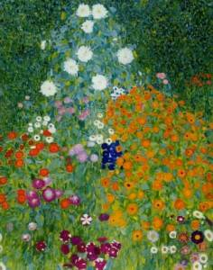 Farm Garden by Gustav Klimt