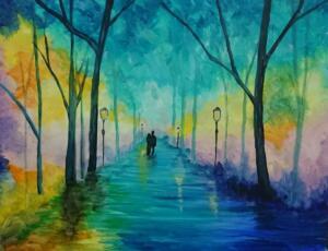 Lovers in the Mist © Studio Vino