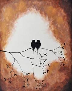 Love Birds - original artist unknown