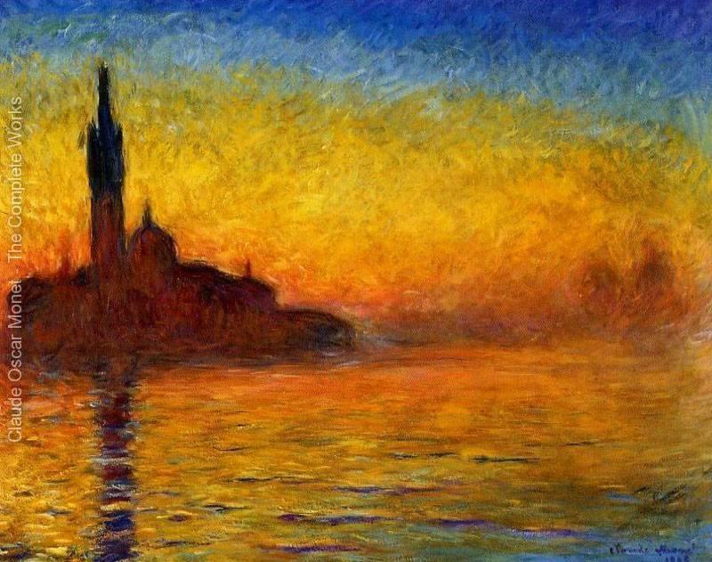 Venice by Twilight - Claude Monet