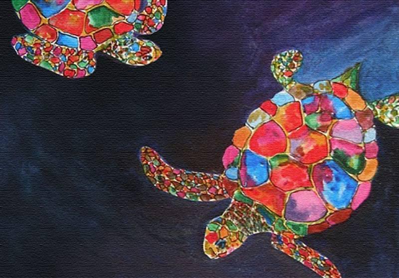 Mayan Turtles - original artist unknown